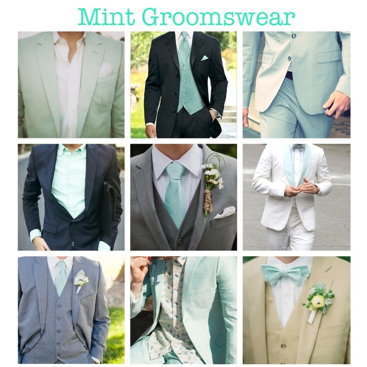 Mint groomsmen: ideal! Perfect for the colors I have ready chosen :)