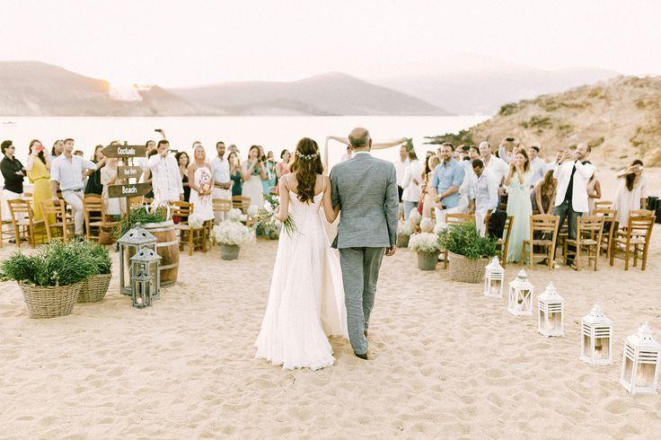 Beautiful Mykonos wedding - Alemagou