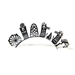 Lashes London Skyline, $19, now featured on Fab.