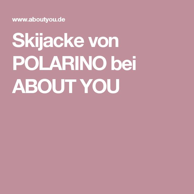 Skijacke von POLARINO bei ABOUT YOU