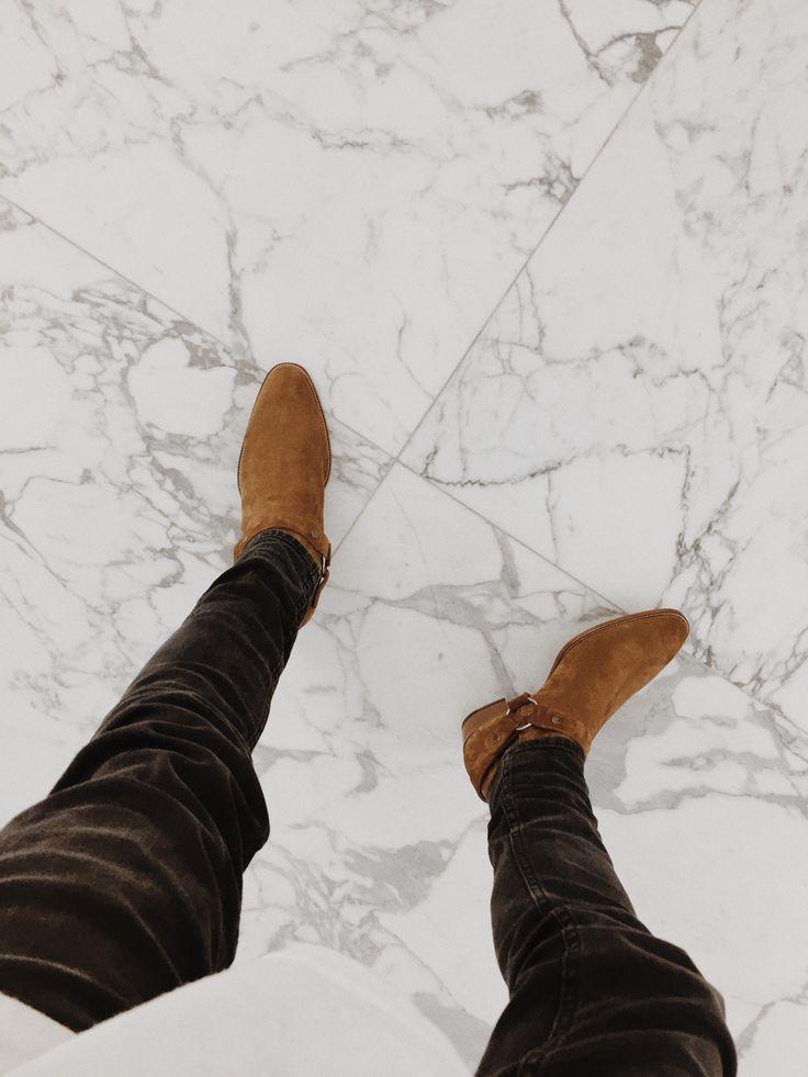 Saint Laurent Wyatt Boots Ysl Saint Laurent Boots