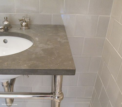 6 x 6 field tile in pumice glossy crackle waterworks showroom georgetown washington dc Bathroom decor tiles edgewater wa