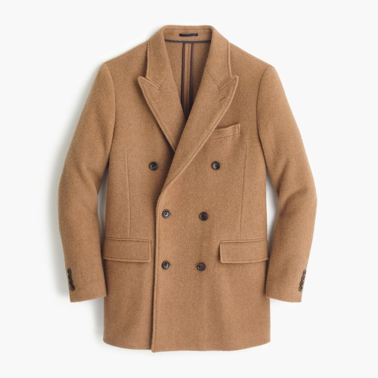 English camel-hair peacoat : coats & jackets | J.Crew