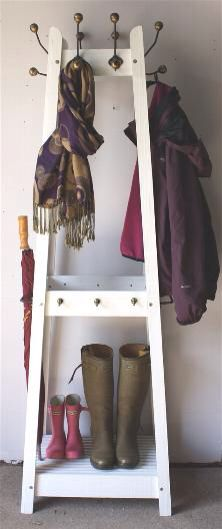Interesting coat stand