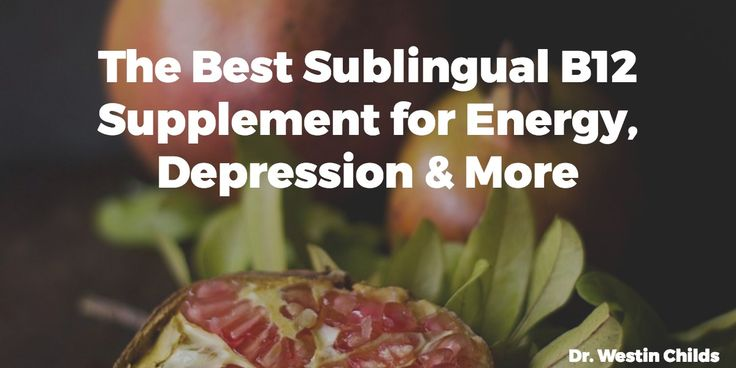 Sublingual B12 is better absorbed and has more cellular activity than other forms of vitamin B12. Find out how to check if you are deficient and how fix it.