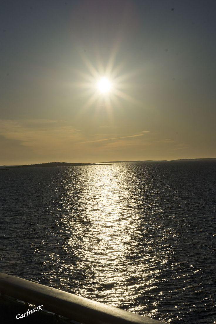 Underbara havet och solen