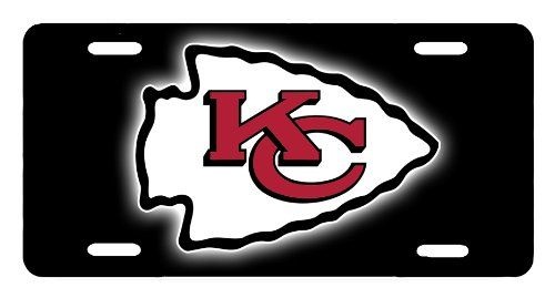 cool SK1000B Kansas City Chiefs NFL License Plate
