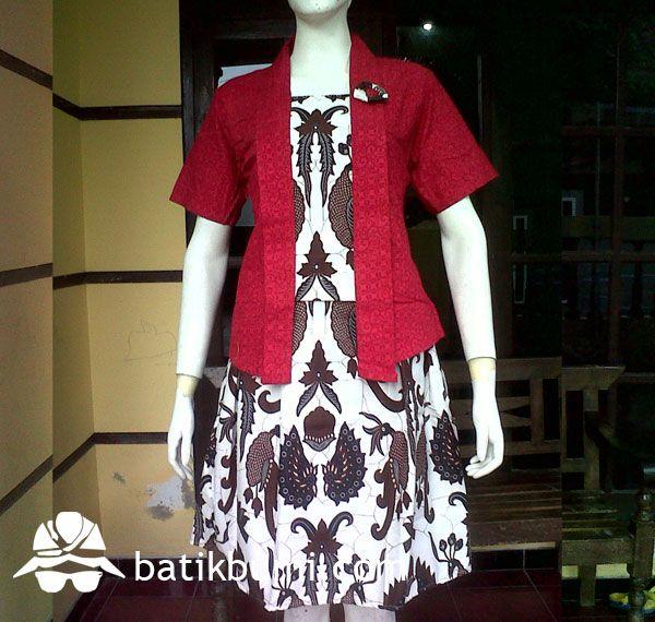 batik rok blouse