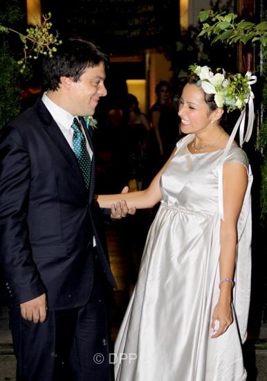 Bernardo Guillermo and Eva Prinz-Valdes; New York, 5 Sept. 2009