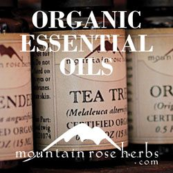Have you heard about Mountain Rose Essential oils? They offer fine quality essential oils, herbal products, all natural body care, and bulk organic herbs, teas and spices!