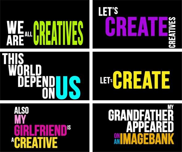 Animación, Himno a los creativos