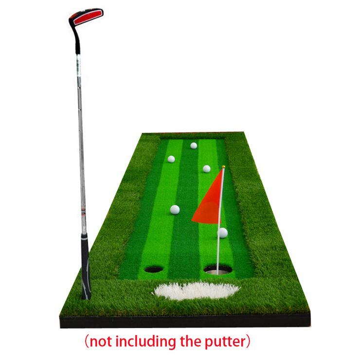 0.75X3M Indoor & Outdoor Backyard Golf Putting Green Residential Training Hitting Pad Practice Rubber Tee Holder Drop Shipping