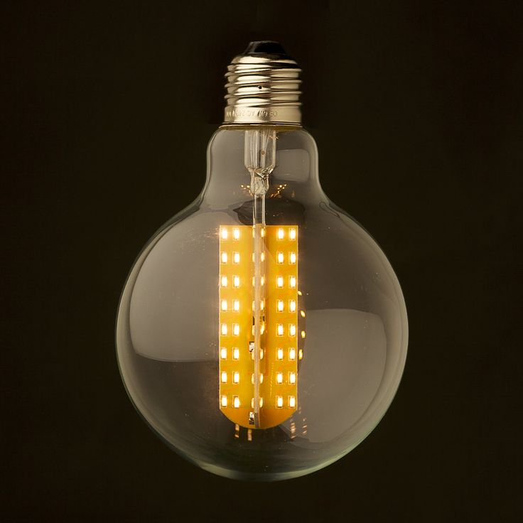 Dimmable LED E26 95mm Round Bulb