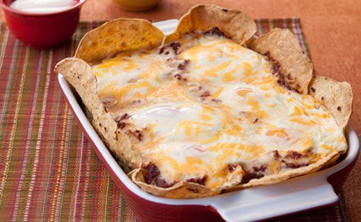 Epicure's Mexican Deep Dish Huevos Rancheros