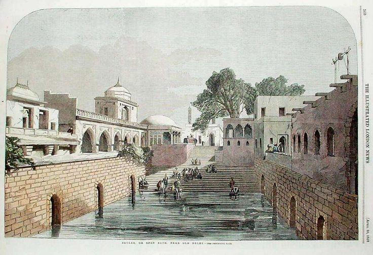 Pixelated Memories: Baoli, Hazrat Nizamuddin Dargah, New Delhi