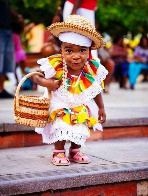 Niña de Jamaica.