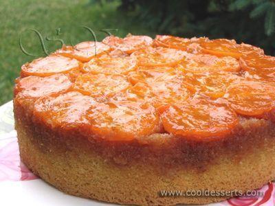 Upside-Down Apricot Cake