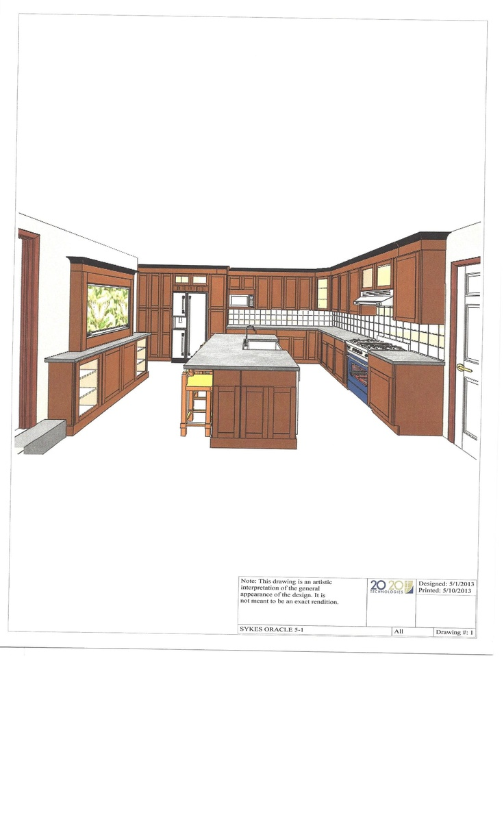 Philadelphia Kitchen Cad Design