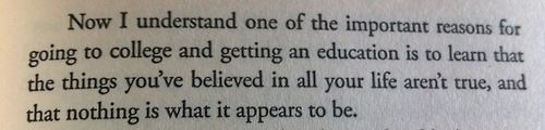 Just finished Flowers for Algernon by Daniel Keyes. This quote was one of my favorites.