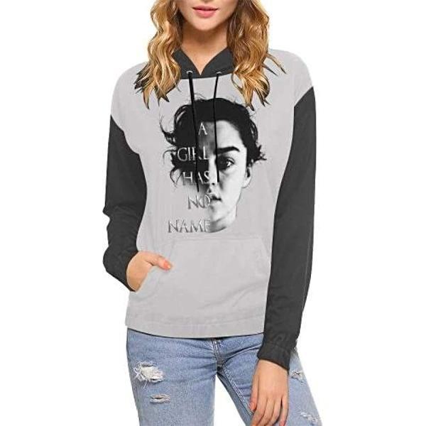 Arya A Girl Has No Name Game Of Thrones Women S Hoodie Sweatshirt Gameofthrones Aryastark Arya Da Women Hoodies Sweatshirts Sweatshirts Hoodie Sweatshirts