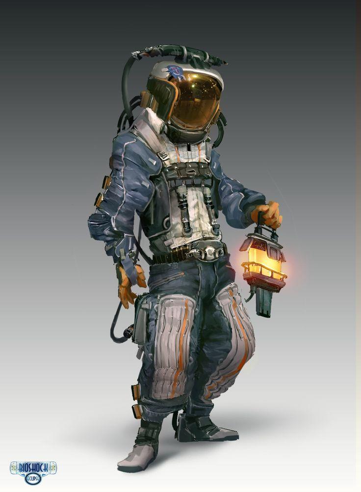 ArtStation - Bioshock Main Character, Ang Chen