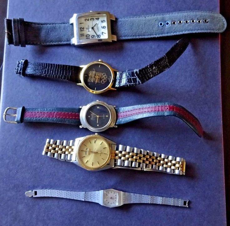 Watch Lot of Five Quartz watches