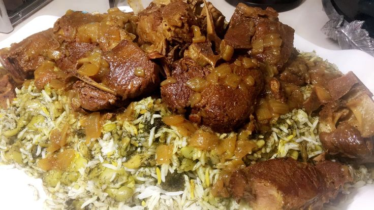 baghali polow recipe