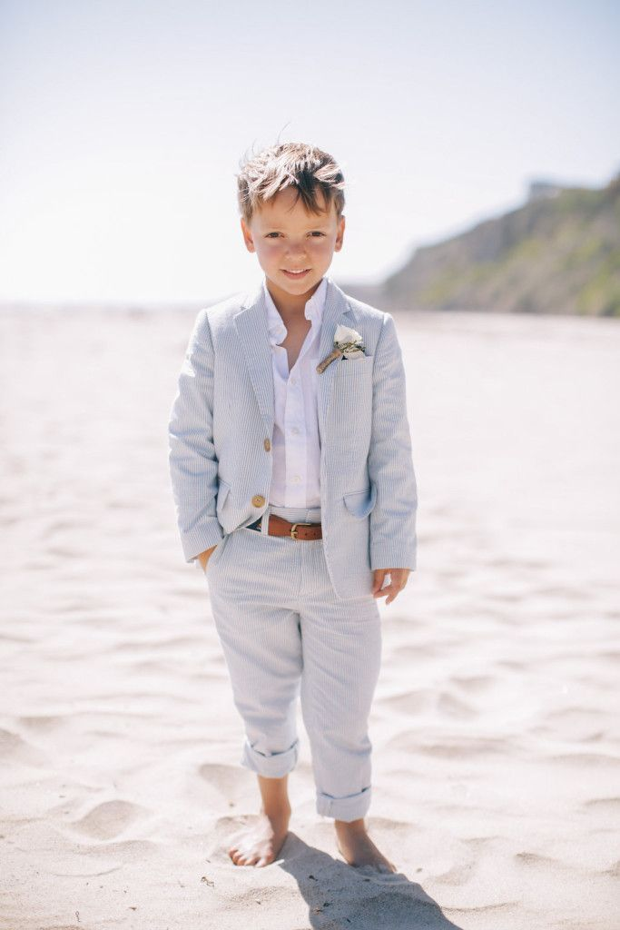 Destination Wedding Beach RIng Bearer |aboutdetailsdetails.com | Brian And Leah