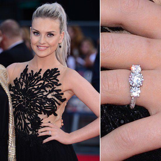 Pin for Later: Die schönsten Eheringe der Stars Perrie Edwards Perrie zeigte ihren Verlobungsring, den sie von One Direction Sänger Zayn Malik erhalten hatte, im August 2013.