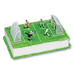 Soccer Cake Decorating Kits