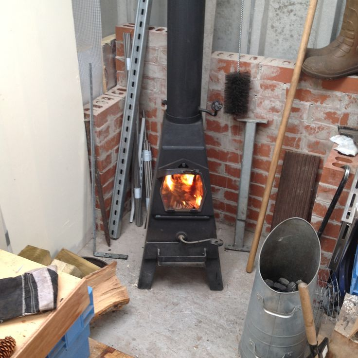 Along with our smallest Little Devil stove the Firebug makes an ideal workshop stove, thanks to Jake for this pic of his newly installed Firebug making the winter months in his workshop more bearable.