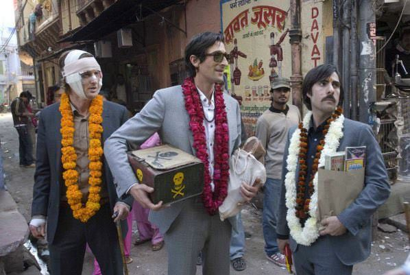 The Darjeeling Limited (2007) – Three brothers are going on a trip together through India to find their mother.