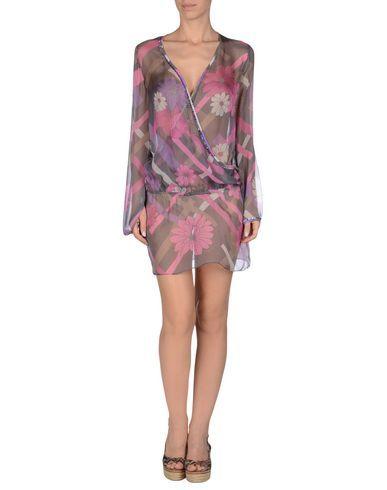 ¡Cómpralo ya!. MISS BIKINI Vestido de playa mujer. crepé, abalorios, estampado floral, sin bolsillo , vestidoinformal, casual, informales, informal, day, kleidcasual, vestidoinformal, robeinformelle, vestitoinformale, día. Vestido informal  de mujer color púrpura de MISS BIKINI.