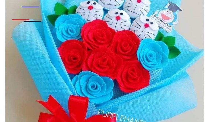 Fantastis 11 Gambar Buket Bunga Boneka Doraemon Buket Bunga Mix Boneka Doraemon Untuk Kado Wisuda Buket Boneka Doraemon Buket Bunga W In 2020 Gift Blog Crafts Gifts