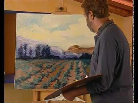 Curso practico de dibujo y pintura oleo profundidad atmosferica - YouTube