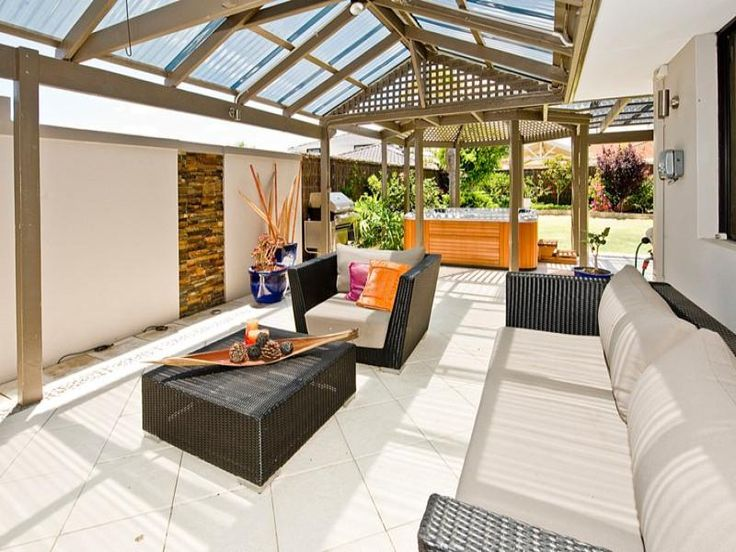 Outdoor living design with pergola from a real Australian home - Outdoor Living photo 889820
