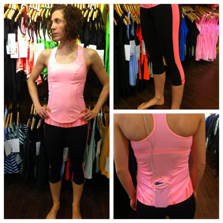 The solid Bleached Coral Cardio Kick Tank (I may need to get this ...