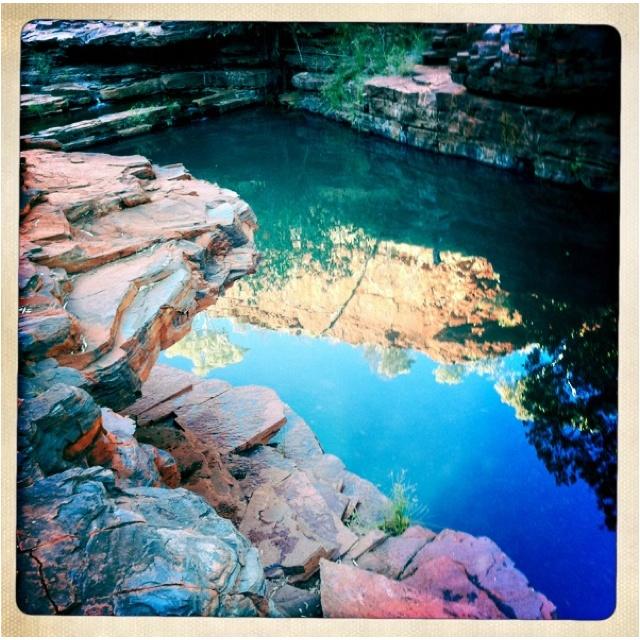 Karajini swimming hole