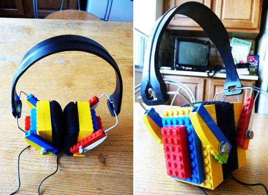 These DIY LEGO Headphones Brings Playfulness to Music