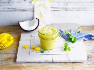Tropische kokos-smoothie