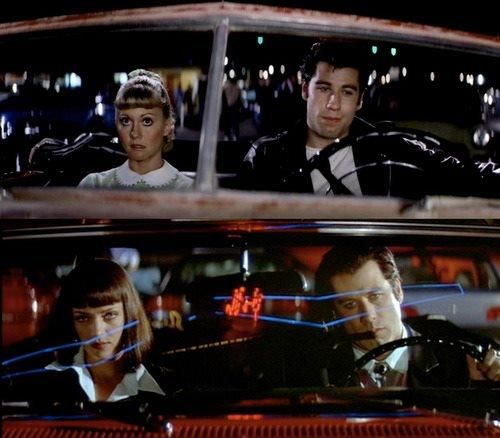Travolta @ his best | Grease & Pulp Fiction