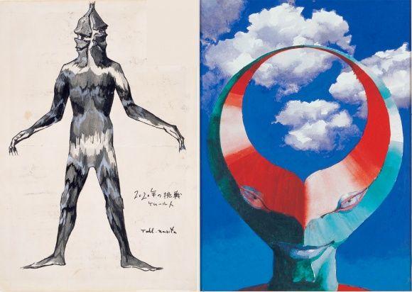 「ウルトラマンと怪獣をデザインした男」、成田 亨の展覧会を福岡で開催。