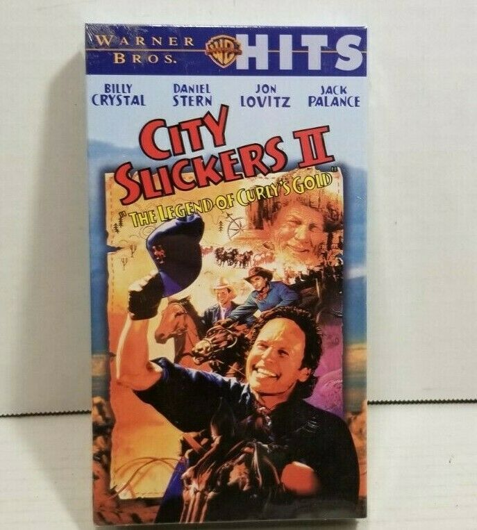 City Slickers Ii The Legend Of Curly S Gold Vhs Video Billy Crystal 2 Sealed In 2020 City Slickers Vhs Vcr Tapes