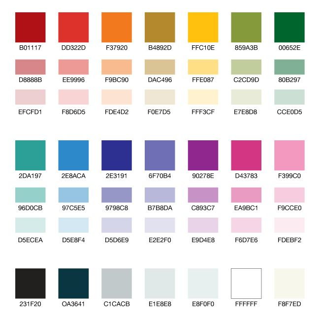 7 Soothing Color Palettes For Your Bedroom In 2019: UK Government Digital Service Design Principles