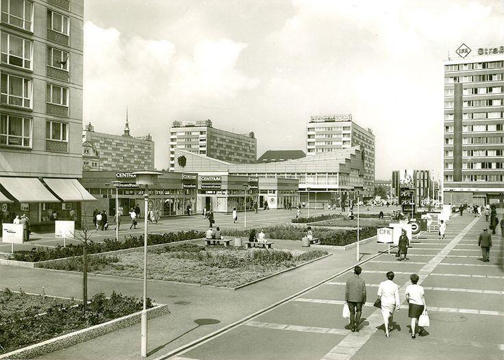 Saschenplatz, Leipzig 1971
