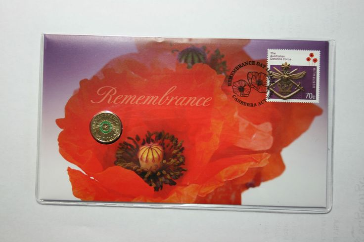 RARE! 2014 LIMITED ISSUE $2.00 ($2) REMEMBRANCE DAY PNC