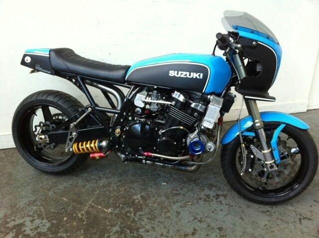 Suzuki GS 1000 S double turbo
