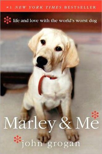 """""""Marley and Me,"""" by John Grogan - GREAT book and captures trials, tribulations & unconditional love only a Lab could give (Yes, I am biased) could NEVER read it again though!!"""