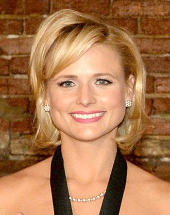mixed curly hairstyles : Miranda Lambert Debuts Bob Hairstyle: See Her Hair Makeover