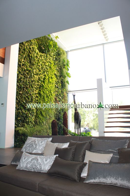 7 best jardin vertical villa de lujo ibiza images on for Paisajismo urbano